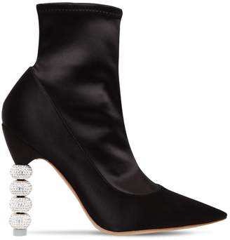 Sophia Webster 100mm Jumbo Coco Satin Ankle Boots