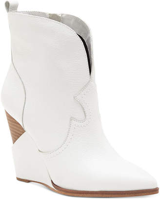 Jessica Simpson Hilrie Western Booties Women Shoes