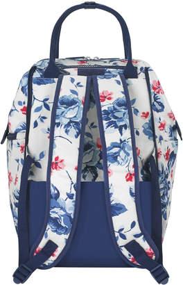 Cath Kidston Dulwich Rose Frame Wheeled Backpack