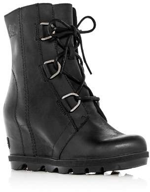 Sorel Women's Joan of Arctic II Waterproof Leather Hidden Wedge Boots
