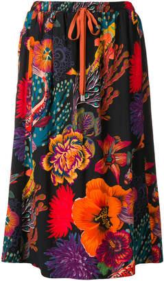 Paul Smith ocean print skirt