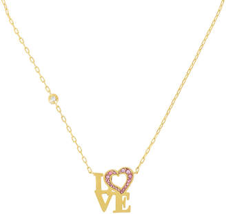 Henri Bendel Love Block Pendant Necklace