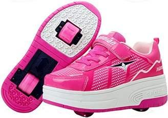 3.1 Phillip Lim PPXID Boy's Girl's Adult's Single Wheel/Double Wheels Skate Shoes Roller Sneakers-Blue CN