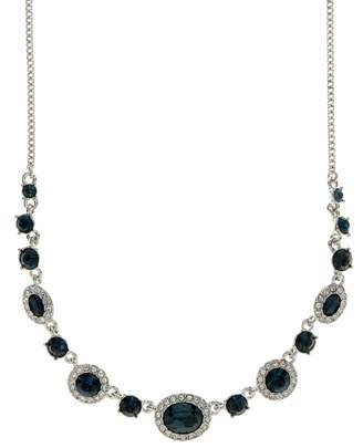 Givenchy Crsytal Frontal Necklace