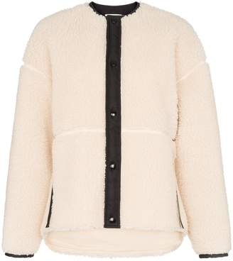 Hyke button-down long-sleeve jacket