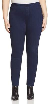 Marina Rinaldi Idro Denim Jersey Leggings