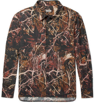 Lanvin Printed Satin Shirt