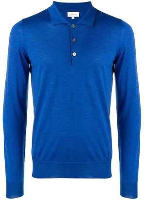 Brioni long sleeve polo shirt