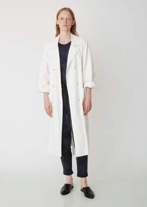 Raquel Allegra Tailoring Jersey Trench Coat