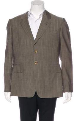 Paul Smith Striped Wool Blazer
