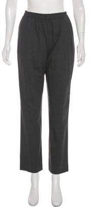 eskandar Wool Straight-Leg Pants