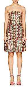 Osman Women's Franzi Striped Sequined Strapless Dress-Pink Multi