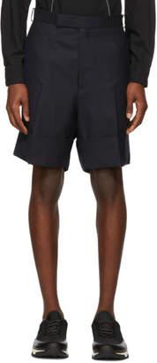 Thom Browne Navy Little Boy Beltloop Shorts