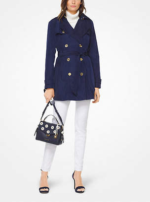 Michael Kors Hooded Trench Coat