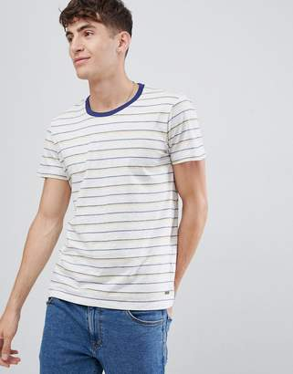 Esprit T-Shirt With Multi Stripe