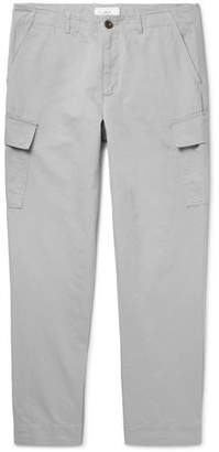 Mr P. Tapered Cotton And Linen-Blend Cargo Trousers
