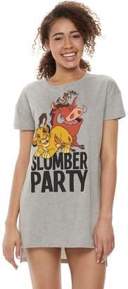 Disney Disney's The Lion King Juniors' Timon, Pumbaa & Simba Graphic Sleepshirt