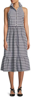 Kate Spade Candy Stripe Sleeveless Shirt Dress