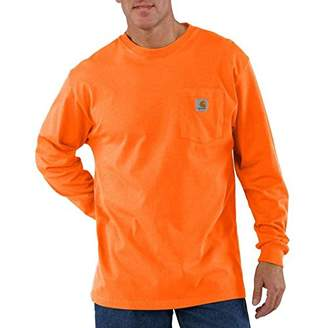 Carhartt Men's Tall Pocket Long-Sleeve Workwear T-Shirt K126