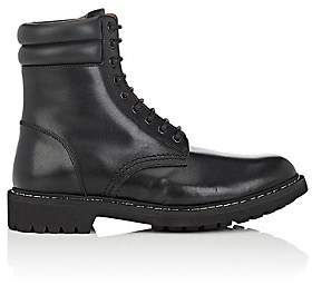 Givenchy Men's Leather Combat Boots - Black