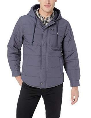 Brixton Men's Cass Standard Fit Hooded Jacket