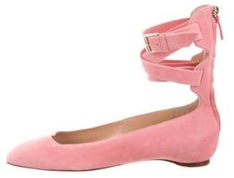 Valentino Multistrap Ballerina Flats w/ Tags