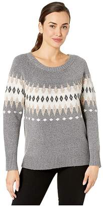 Tribal Long Sleeve Jacquard Sweater