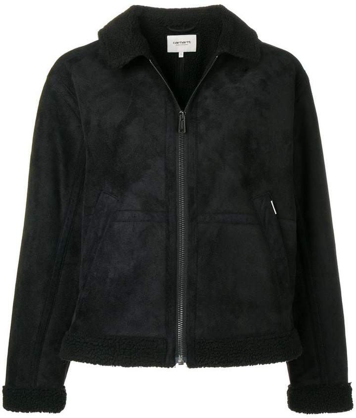 Heritage faux shearling-lined jacket