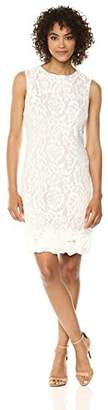 Emma Street Women's 1 Pc Lace Dress with Rosettes