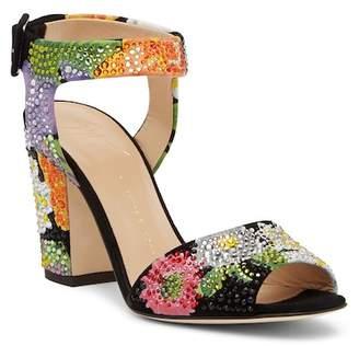 Giuseppe Zanotti Embellished Open Toe Sandal