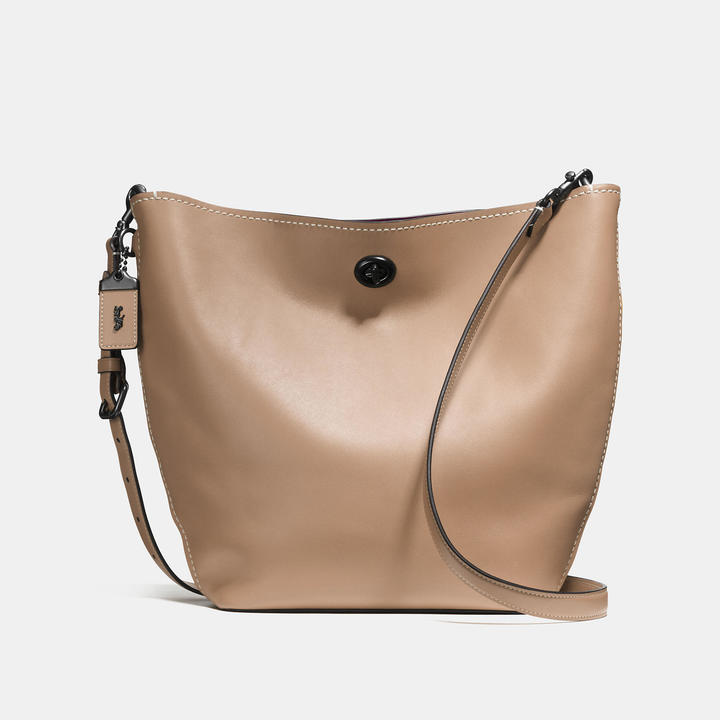 Coach  COACH Coach Duffle Shoulder Bag In Glovetanned Leather