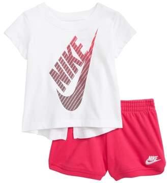 Nike Gradient Futura Tee & Shorts Set