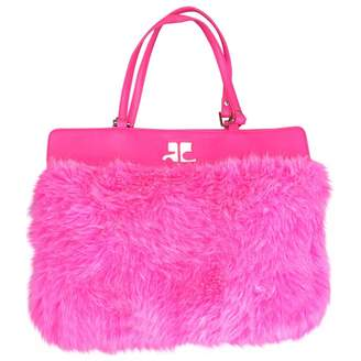 Courreges Pink Synthetic Handbag