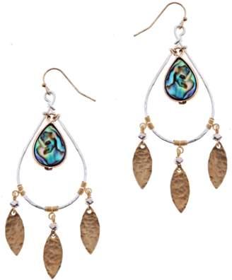 Nakamol Chicago Abalone Dangle Earrings