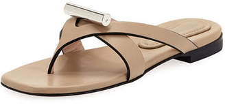 Stuart Weitzman Arro Flat Thong Slide Sandal