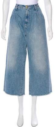 Rodebjer High-Rise Denim Culottes