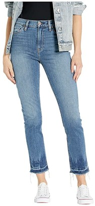 Hudson Jeans Holly High-Rise Straight Crop Jeans in Try Me