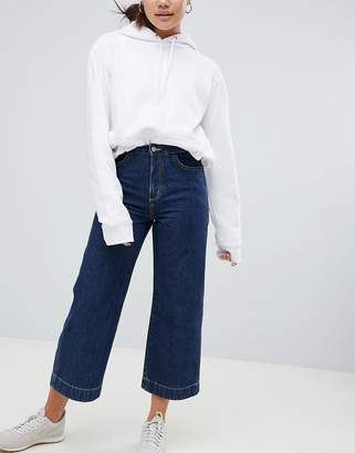 Weekday Wide Leg Denim Pant