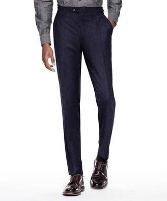 Todd Snyder Sutton Suit Pant In Italian Navy Pinstripe Wool