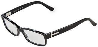 Gucci 55Mm Rectangle Optical Glasses