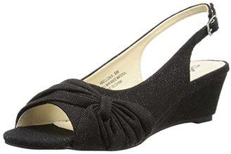 Annie Shoes Women's ABELLONIA Espadrille Wedge Sandal $60 thestylecure.com