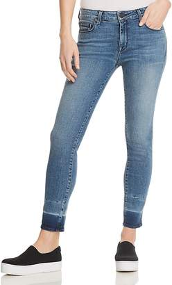 Parker Smith Kam Cropped Skinny Jeans in Coral Reef