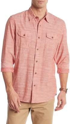 Grayers Lockhart Printed Slub Poplin Shirt