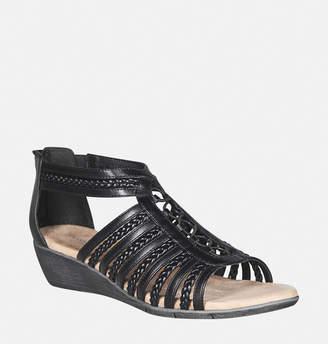 Avenue Farrah Braided Gladiator Wedge Sandal