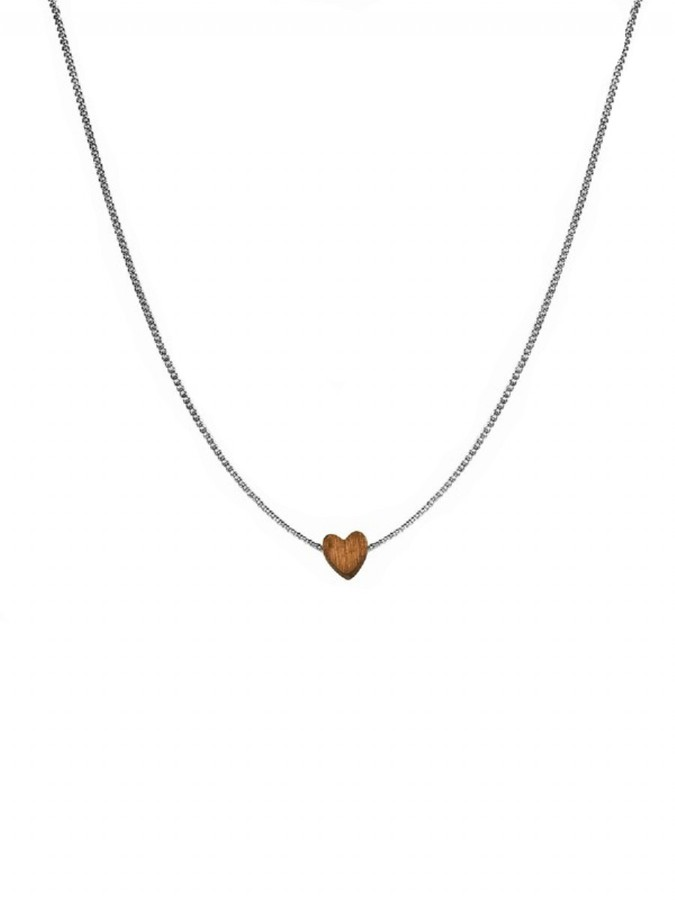 Jules Smith Nature's Heart Necklace