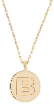 Theodora Warre - B Charm Gold Plated Necklace - Womens - Gold