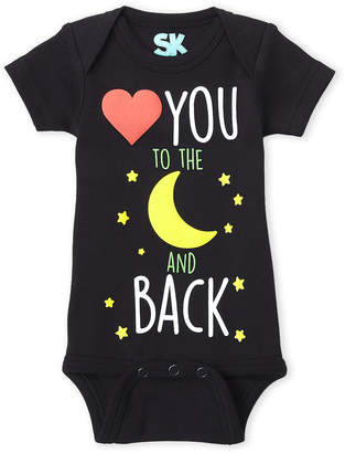 Baby Essentials Sk By Sara Kety (Newborn/Infant) To The Moon And Back Bodysuit