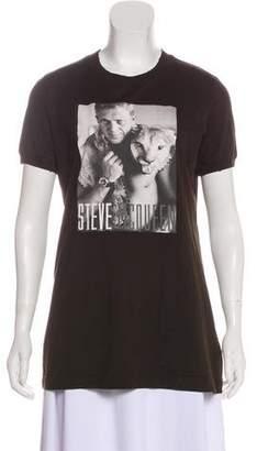 Dolce & Gabbana Graphic Short Sleeve T-Shirt