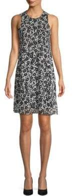 Calvin Klein Floral A-Line Dress