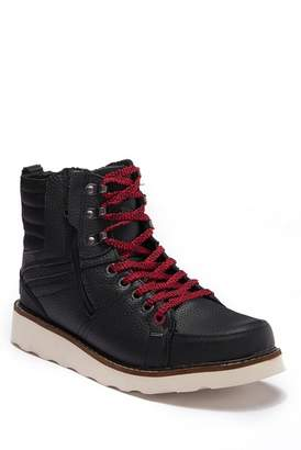 Pajar Reigh Leather & Faux Wool Hi-Top Boot